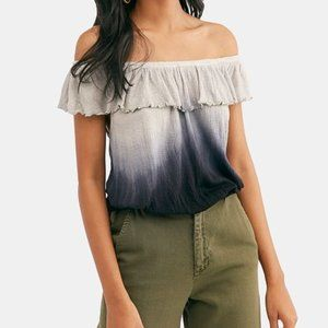 Free People Ombre Off Shoulder Top